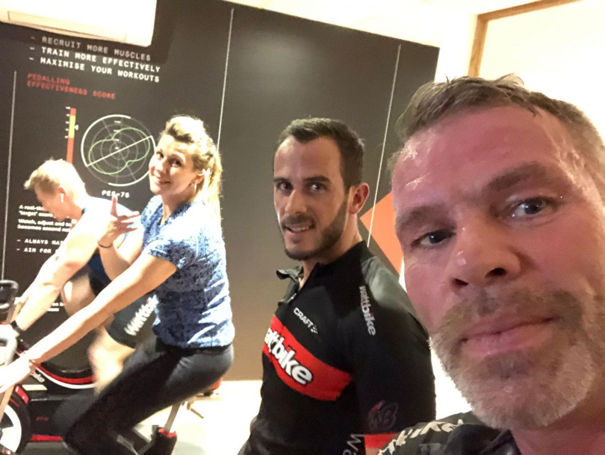 Wattbike trainer course