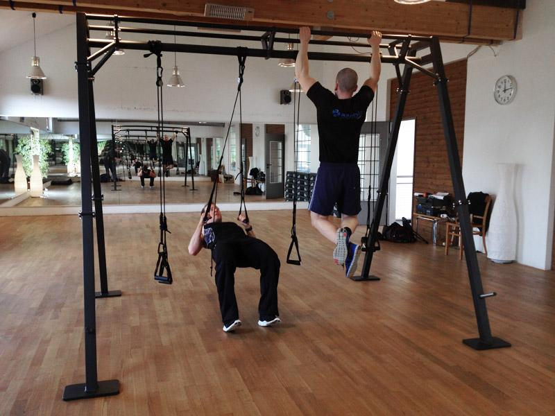 Aerobis - verso360 - Suspension + Pull-ups